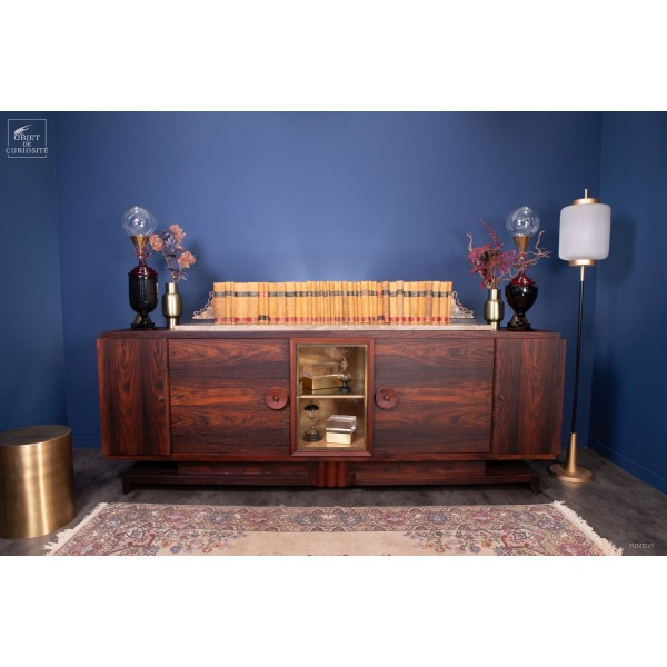 Exceptional 1940 Mahogany cabinet.