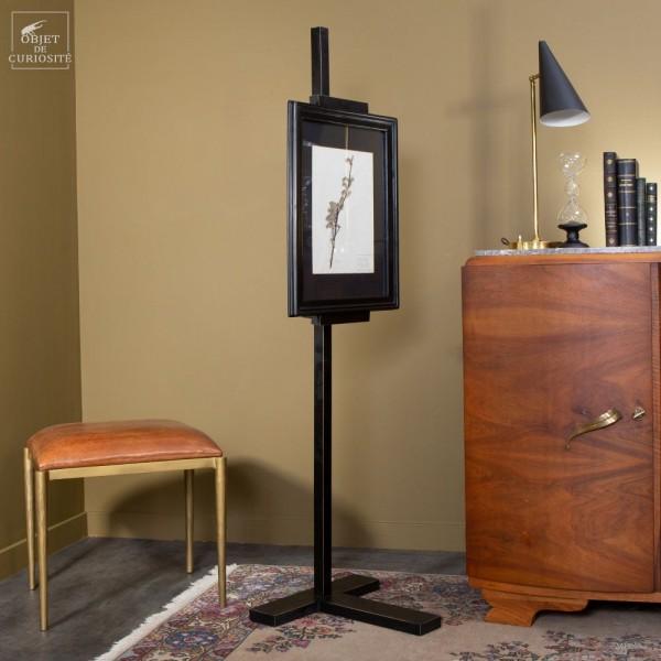 Frame easel, black wood