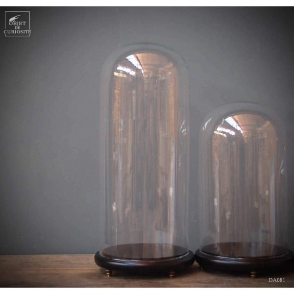 Globe sur socle noir TGM VIDE sans pieds H 70cm