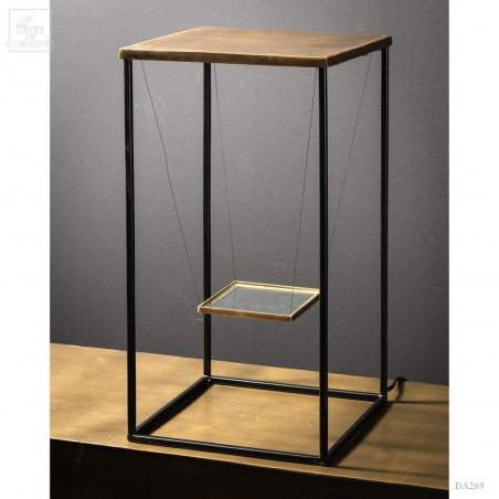 Cage de présentation avec éclairage led