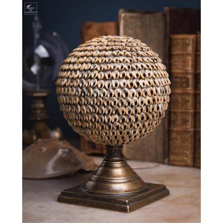 Sphère de coquillages NASSARIUS PM Mélanésie