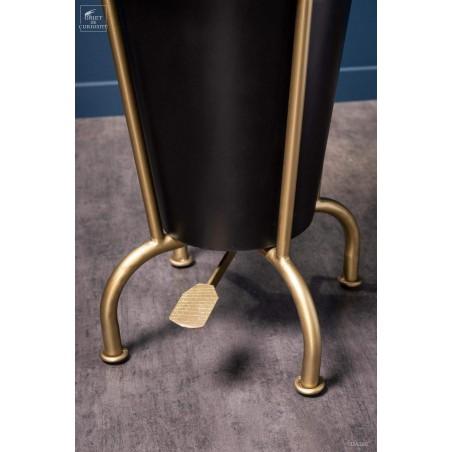 Steampunk pedal dustbin