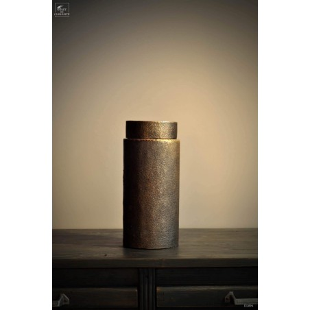 Forged iron tea box (large)