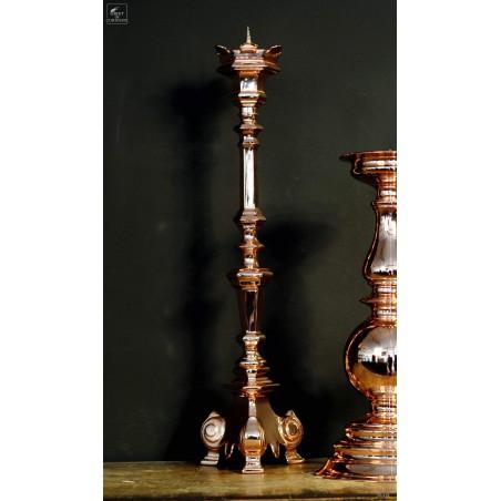 Copper church candelstick