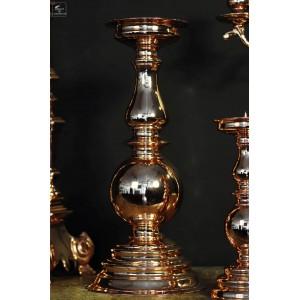 05 Koehope Bougeoir r/étro en cuivre pour d/écoration de f/ête Cuivre Or