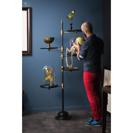 Giant glass bells display stand