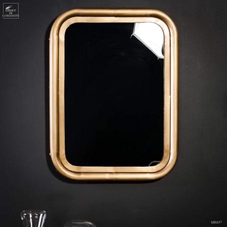 Iron frame with mirror