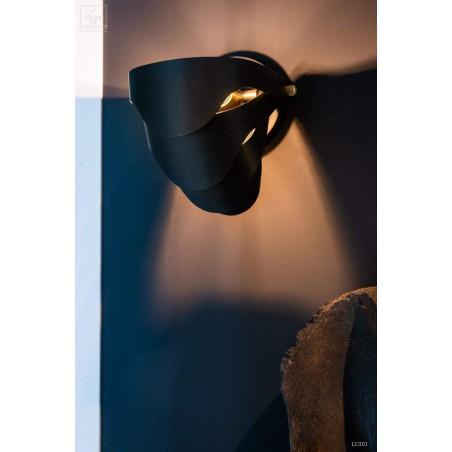 Fan wall light