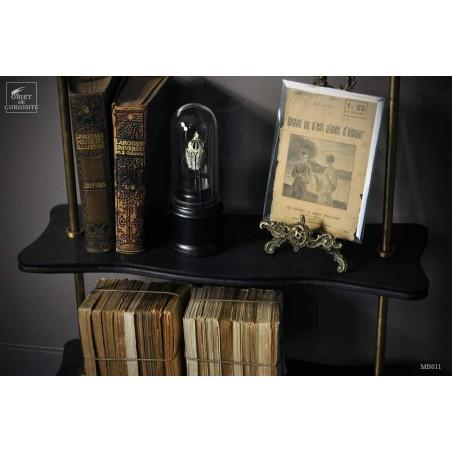 rack - 6 shelves Antic brass finish